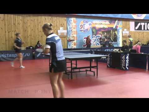 Anna Blazhko - Svetlana Mokhnacheva. Russian Women's Premier League 2013-2014
