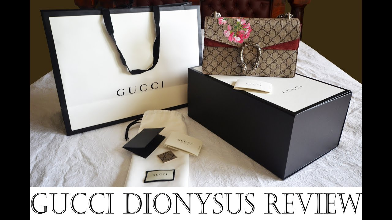 79b55b32560 Gucci Dionysus Bag Review Blooms Small inc comparisons to Chanel Double  Flap bag medium large