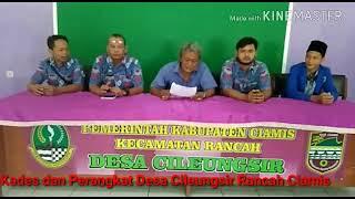 Download Video Viral antara Kades Vs Perangkat Desa Cileungsir Rancah Ciamis MP3 3GP MP4