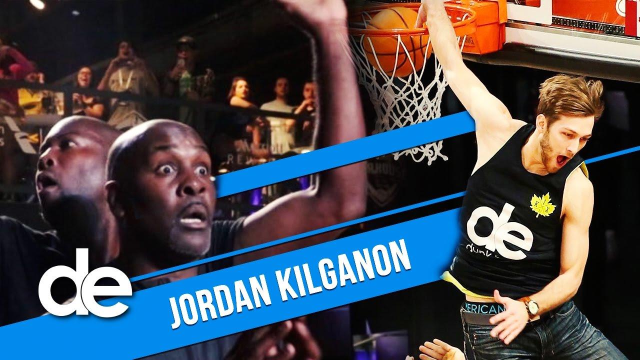Dunk Elite: 6'1 (186cm) Jordan Kilganon dunking OUT OF THIS PLANET!! image