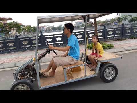 Solar car - No power consuming nor expensive gasoline
