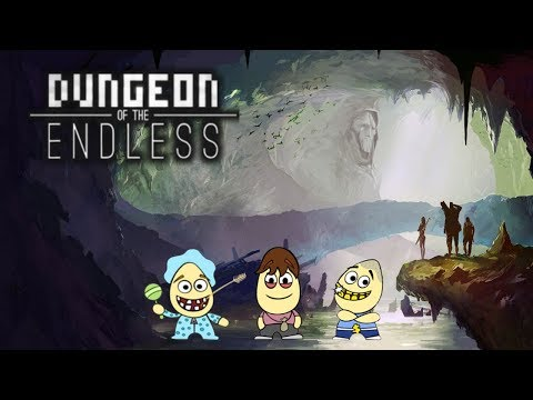 DEFEND THE CRYSTAL (Dungeon of the Endless Ep. 1 w/ Tunkum, Sweet & Gangsta) |