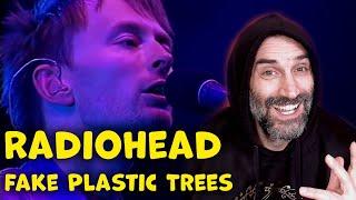 Radiohead Fake Plastic Trees Live @ Glastonbury 2003 reaction classics