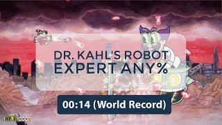 Cuphead - Dr Kahl's Robot Speedrun Regular Any% 0:14 (WR)