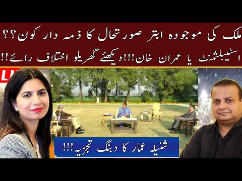 Spousal Disagreement    Who is Responsible for the Current Situation in the Country?    Ammar Masood