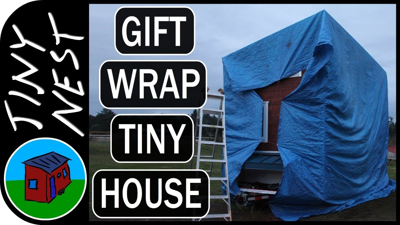 Keeping our Tiny House Build Dry (Ep.48)
