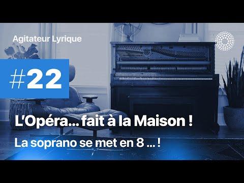 L'Opéra à la maison #22 - La soprano se met en 8 pour Cendrillon !