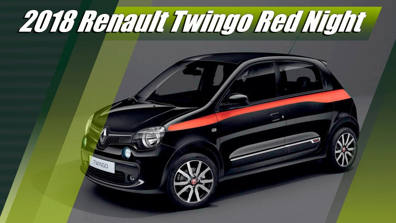 2018 renault twingo red night limited edition review youtube. Black Bedroom Furniture Sets. Home Design Ideas