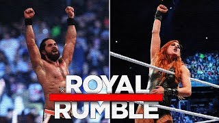оБЗОР ROYAL RUMBLE 2019!