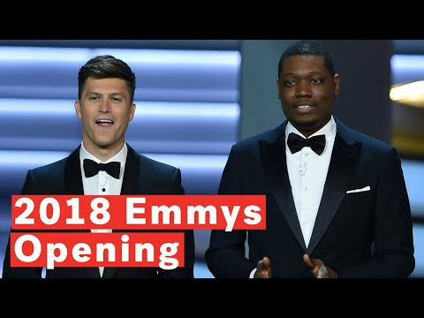Emmys 2018: Stars Sing 'We Solved It'  About Diversity In  Monologue Skit