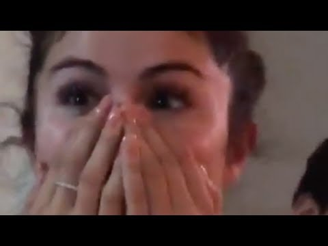 Mikey V - Selena's Reaction To Her Birthday Present Is PRICELESS!