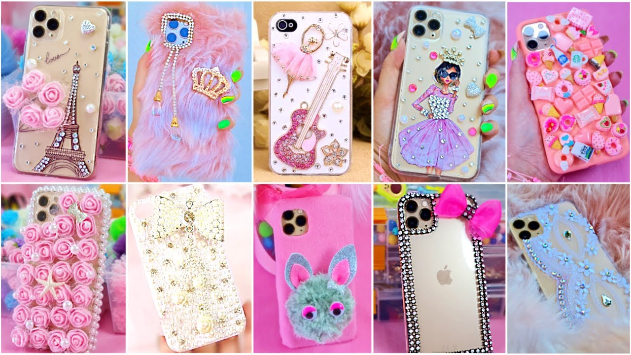 10 DIY PHONE CASE LIFE HACKS - PHONE CASE IDEAS YOU WILL LOVE - Girl Crafts