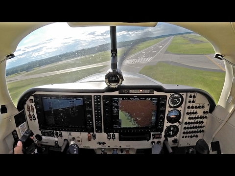 Mooney Ovation - IFR flight from CYYR to KBGR!