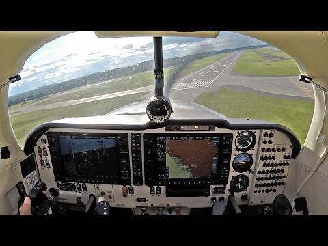 Mooney Ovation - IFR flight from CYYR to KBGR!