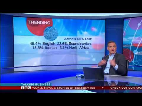 MyHeritage DNA on BBC world news