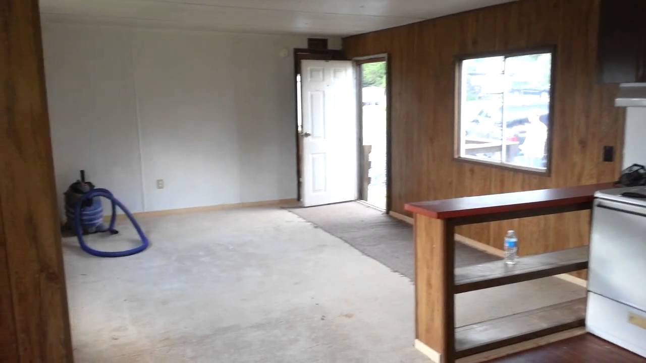 2 bed remodeled home mobile home remodel youtube Home redesign