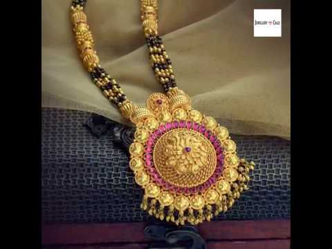 Gold Mangalsutra Designs From Waman Hari Pethe Jewellers