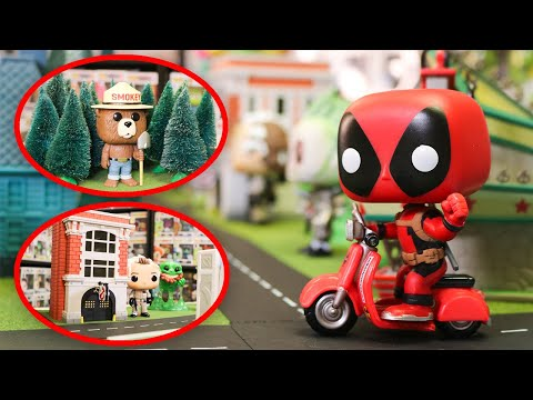 I Built A Funko Pop City in ONE DAY