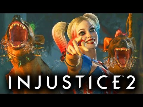 Injustice 2 Gameplay German Multiverse Mode - Harley Quinn Story