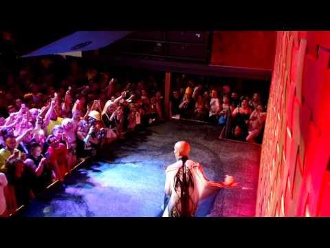 Sasha Velour Axis night club Columbus Ohio