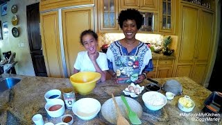 How to make Stout Gingerbread with Judah & Karen Marley | Ziggy Marley & Family Cookbook