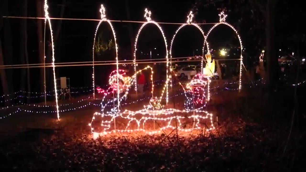 Roper Mountain Christmas Lights 2020 Roper Mountain Holiday Lights   YouTube
