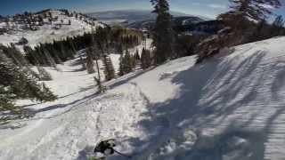 Mi Lunes en la Oficina Gopro skiing Park City Canyons Mar 31 2014 Thumbnail