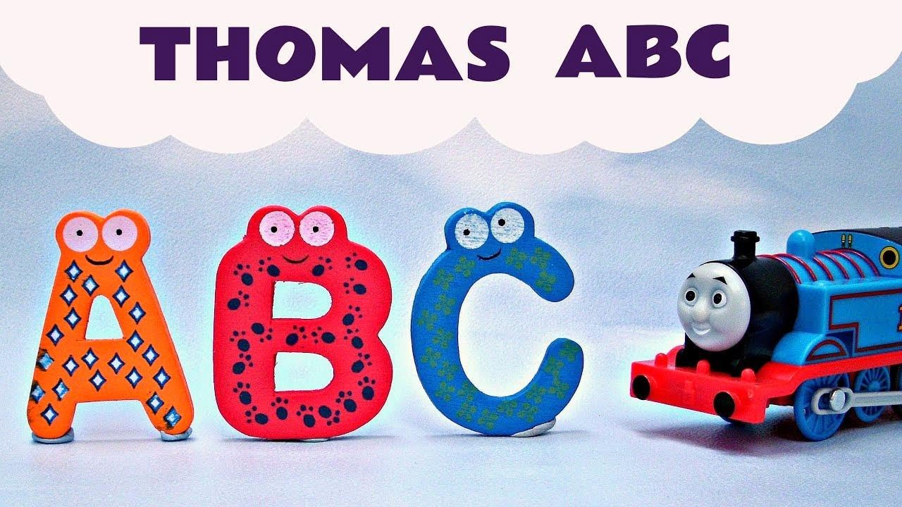 ABC Thomas & Friends Song Alphabet A Z Kids Toys Thomas The Tank