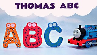 Learn ABC Thomas & Friends Song Alphabet A-Z Kids Toys Thomas The Tank Engine
