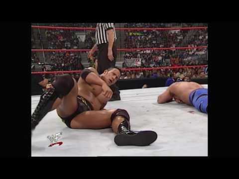 The Rock vs. Chris Benoit: Raw, July 10, 2000