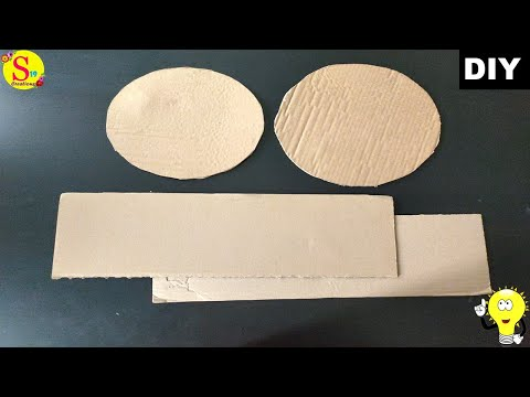 Best out of waste craft ideas   cardboard crafts   Easy diy projects for your home