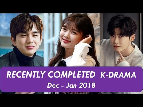 recently-completed-korean-drama-jan---feb-2019