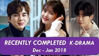 Video Recently Completed Korean Drama Jan - Feb 2019 download MP3, 3GP, MP4, WEBM, AVI, FLV September 2019