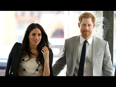 Prince Harry and Meghan Markle begin Commonwealth work