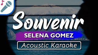"""Karaoke ✔ """"souvenir"""" is a brand new song by selena gomez from her official deluxe album """"rare"""" (2020). enjoy and singalong with our acoustic version ..."""