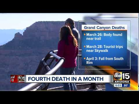 Kid Jay - Fourth death in a Month: Woman Falls to Her Death at Grand Canyon