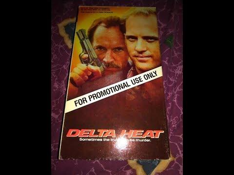 Delta Heat (1992) Previews - Screener VHS