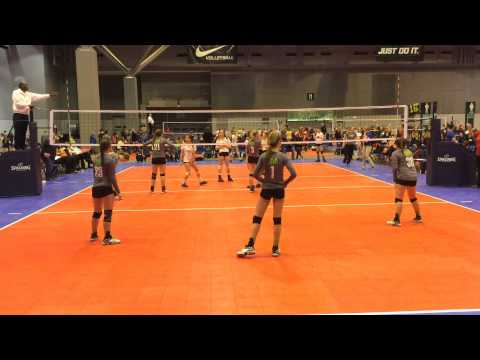 15 Nike Mideast Qualifier match 1 Set 2 ZIVA 13 National