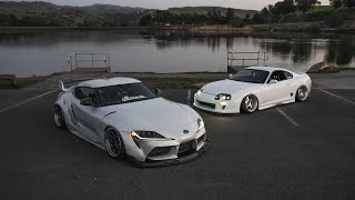 NEW Supra VS OLD Supra!