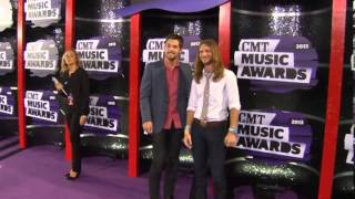 Kris Bentley & Nick Jamerson, Sundy Best CMT Music Awards