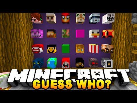 Minecraft GUESS WHO? #5 w/ PrestonPlayz & JeromeASF