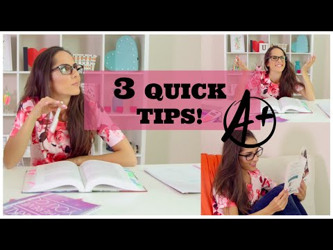 Quick Tips To Get Better Grades