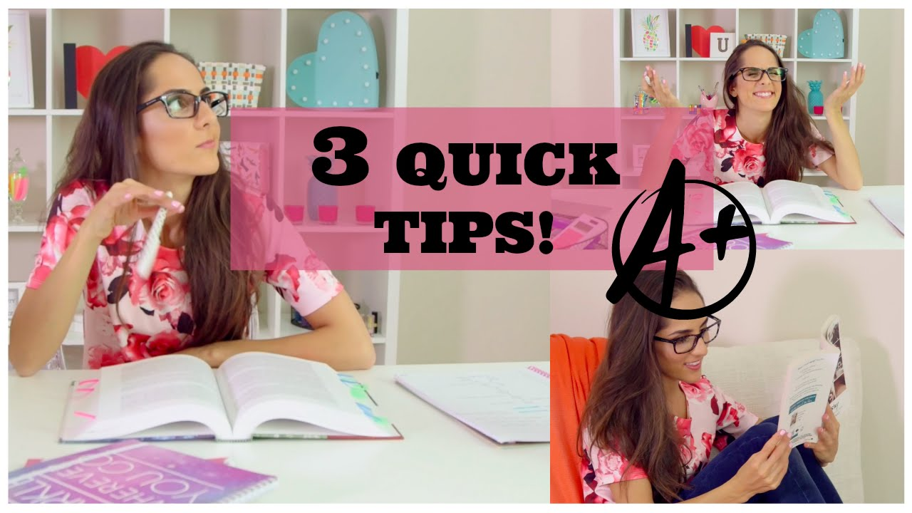 3 quick tips to get better grades 3 quick tips to get better grades