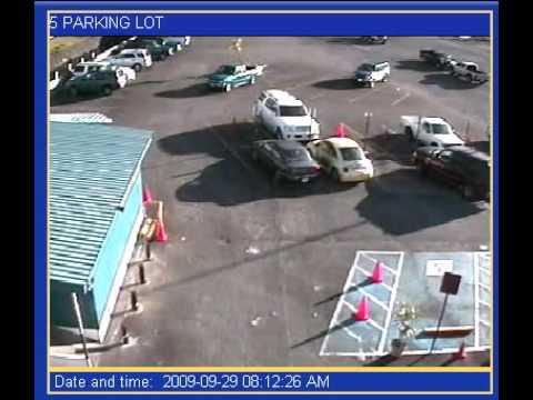 Tsunami Strikes Parking Lot in American Samoa