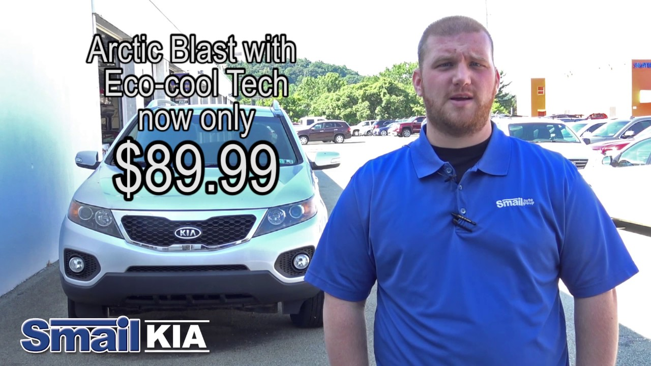 Arctic Blast With Eco Cool Tech At Smail Kia In Greensburg