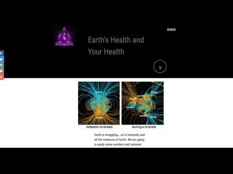 "Earth's 'Health' and Your Health /""Fatigued""?"