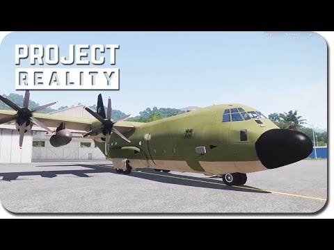 Project Reality: ArmA III & Modding ► C130 Logistics Platfor
