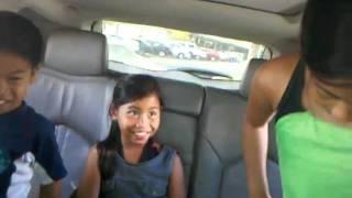 Hula fun in the car - Maui