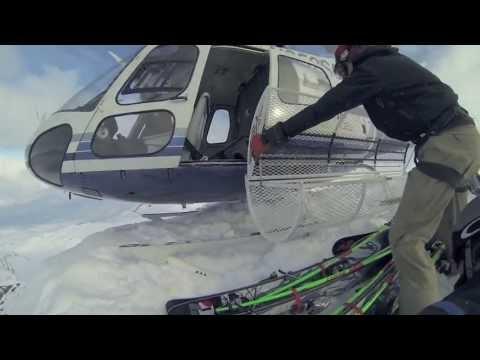 Chugach - Alaska Heli Ski Trip 2013