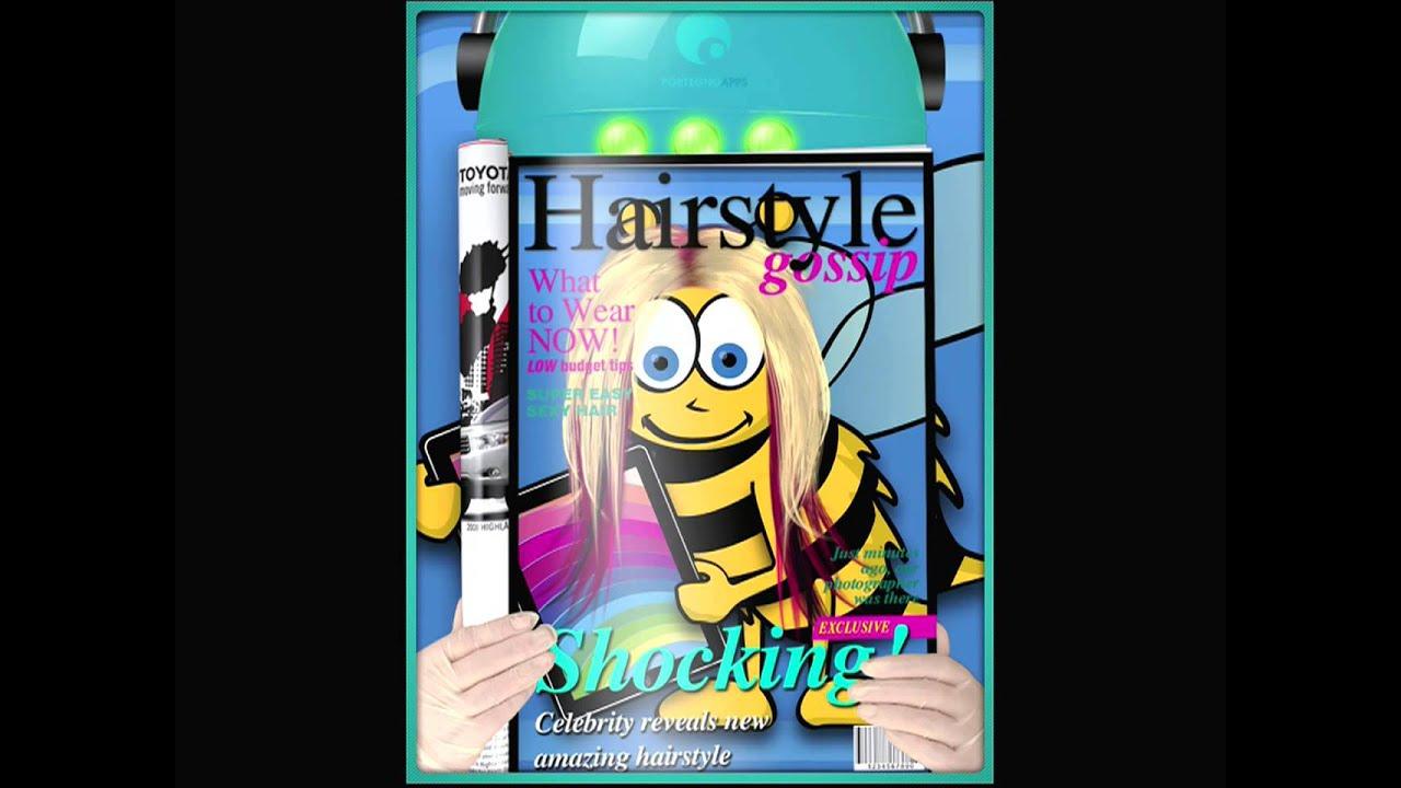 Crazy Hair App Friseur Spiel Für Ipad Iphone Haare Schneiden